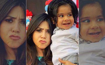 Ekta Kapoor Thinks Her Little 'Ravioli' Ravie Looks Like Salman Khan's Radhe From Tere Naam