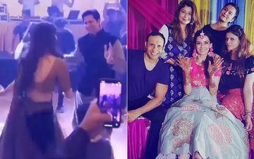Sumeet Vyas-Ekta Kaul Groove To Dhol Beats; To-Be-Bride Flaunts Mehendi