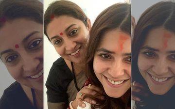 Ekta Kapoor's Love Note For 'Soul Sister' Smriti Irani Has A Cute Panda Twist With Coronavirus Warning - VIDEO
