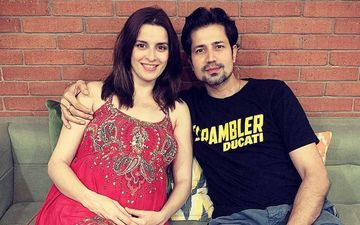 Preggers Ekta Kaul Glows As She Flaunts Her Baby Bump While Posing 'Just Like That' With Dad-To-Be Sumeet Vyas