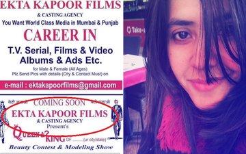 Ekta Kapoor's Father Gets Into Trouble With THE EKTA KAPOOR!