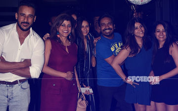 Pics: Anita Hassanandani-Rohit Reddy, Mona Singh Celebrate Ekta Kapoor's Birthday Bash!