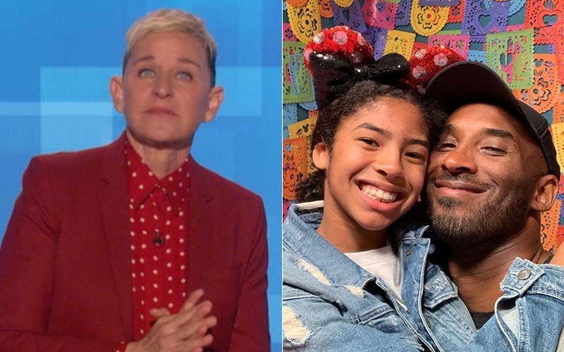 Ellen DeGeneres Breaks Down Mid Show While Talking About Tragic News Of NBA Star Kobe Bryant's Demise- VIDEO