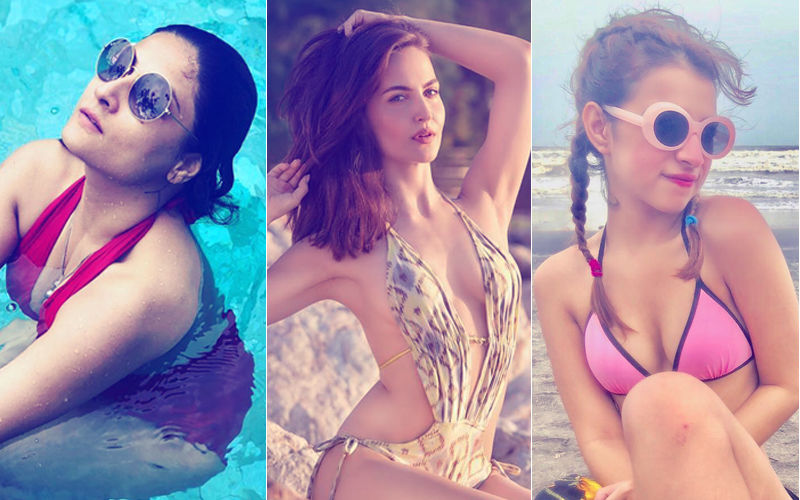 Vitamin Sea: Pics From Ex-Bigg Boss Contestants Urvashi Dholakia, Elli Avram & Benafsha Soonawalla's Beach Holidays