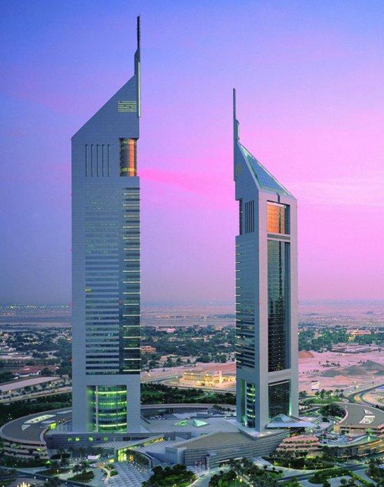emirates tower in dubai