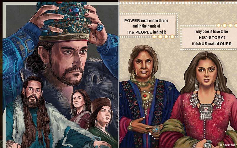The Empire: Fans Send In Love for Shabana Azmi, Dino Morea, Drashti Dhami Starrer With Beautiful Fan Arts
