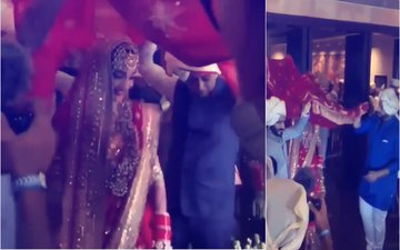 Sonam Kapoor Wedding Video: Brothers Arjun & Harshvardhan Bring The Bride To The Mandap