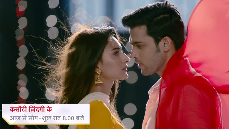 erica fernandes and parth samthaan in kasautii zindagii kay