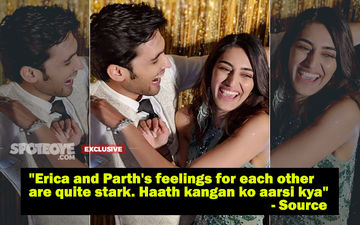 Erica Fernandes And Parth Samthaan's Love Deepens. Now They Arrive, Eat, Leave Together!