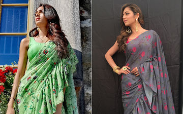 Erica Fernandes Apes Drashti Dhami But Who Wore The Ruffled Saree Better?