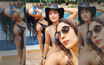 Erica Fernandes In Monokini, Hina Khan In Bikini And Pooja Banerjee In Company! Isn't This Celebration 'Not Mini'?
