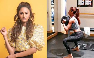 Kasautii Zindagii Kay Actress Erica Fernandes Is A Fitness Freak And Her Latest Workout Picture Sets Temperature Soaring