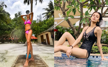 Kasautii Zindagii Kay Actress Erica Fernandes Flaunting Her Sultry Hot Bod In These Bikinis Is Sight For Sore Eyes