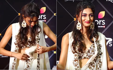 Erica Fernandes' Oops Moment At A Bash; Kasautii Zindagii Kay 2 Actress Covers Up In Time- Watch Video