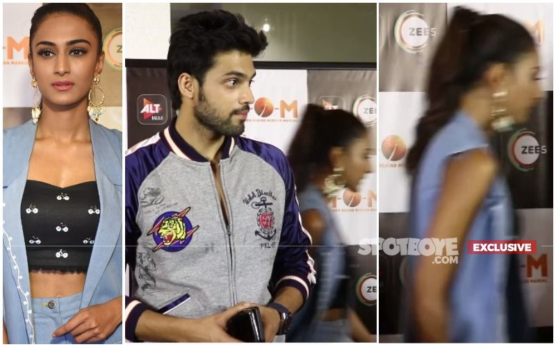Erica Fernandes Ignores And Walks Away Without Greeting Parth Samthaan At Mission Over Mars Screening- EXCLUSIVE