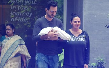 FIRST PICS: Esha Deol & Bharat Takhtani With Their Baby Girl