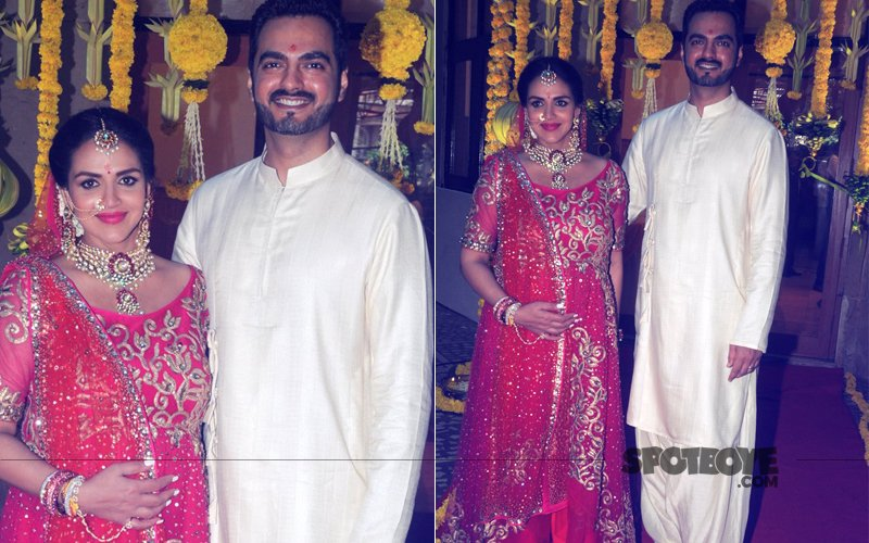 IN PICS: Esha Deol Looks Beautiful As She Gets Married To Bharat Takhtani Again