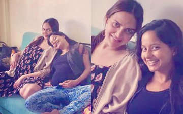 First Picture: Glowing Esha Deol Shows Off Her Baby Bump