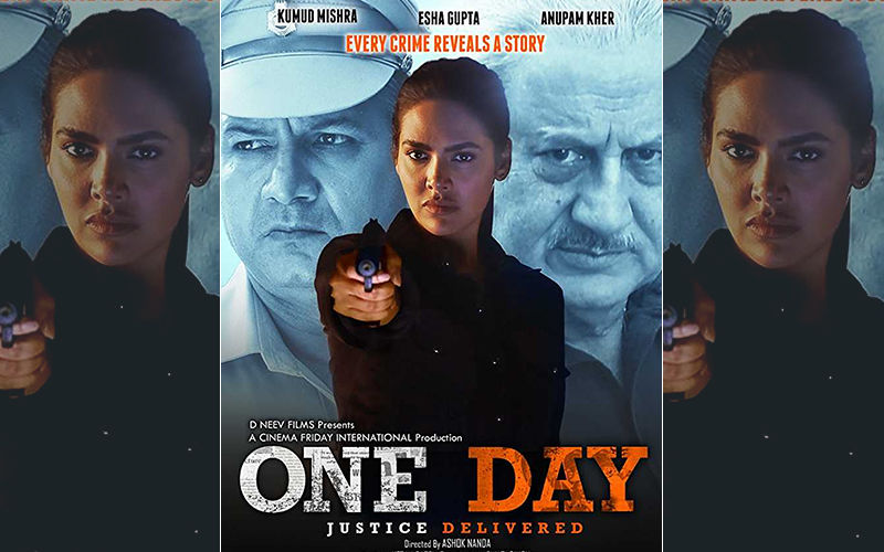 Esha Gupta Goes De-Glam; Packs An Impressive Turn As The Fierce Cop In One Day: Justice Delivered