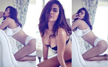 Esha Gupta Is Breaking The Internet With Her Hot Lingerie Photo Shoot