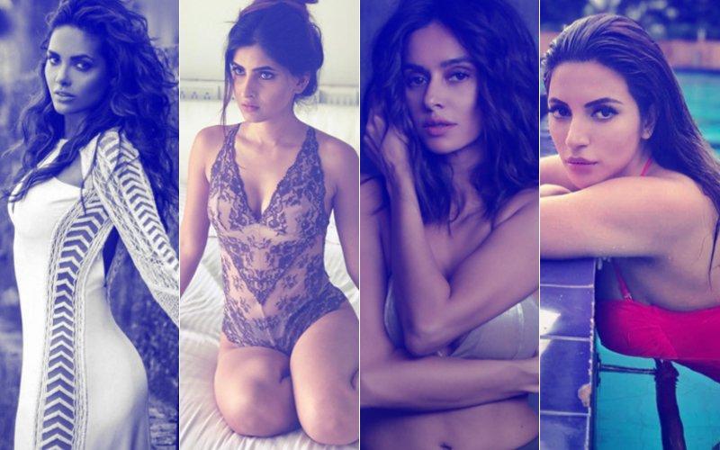 See Pics: Esha Gupta, Karishma Sharma, Shama Sikander, Sophie Choudry And Shibani Dandekar Are 50 Shades Of Sexy
