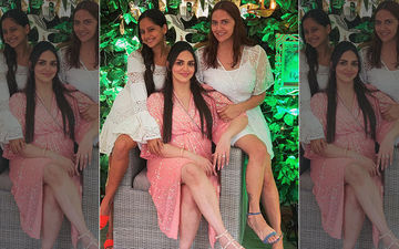 Esha Deol Glows Bright At Her Surprise Baby Shower Ceremony- Pics And Videos Inside!