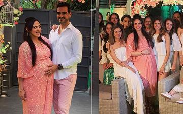 दोबारा मां बनने जा रही ईशा देओल को पति भरत तख्तानी और बहन आहना ने दिया सरप्राइज़, देखिए वीडियों