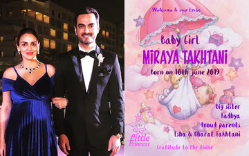 Esha Deol On Why She Chose Miraya As The Name Of Her 2nd Baby Girl