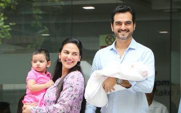 Esha Deol-Bharat Takhtani Take Baby Miraya Home- SEE FIRST PICS