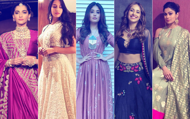 Ganesh Chaturthi 2018: Take Cues From Sonam Kapoor, Nora Fatehi, Kritika Kamra, Nushrat Bharucha & Shamita Shetty On How To Ace Your Ethnic Game
