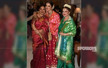 Evergreen Rekha's Sister Radha Is A Spitting Image Of Her; We Have Picture Proof