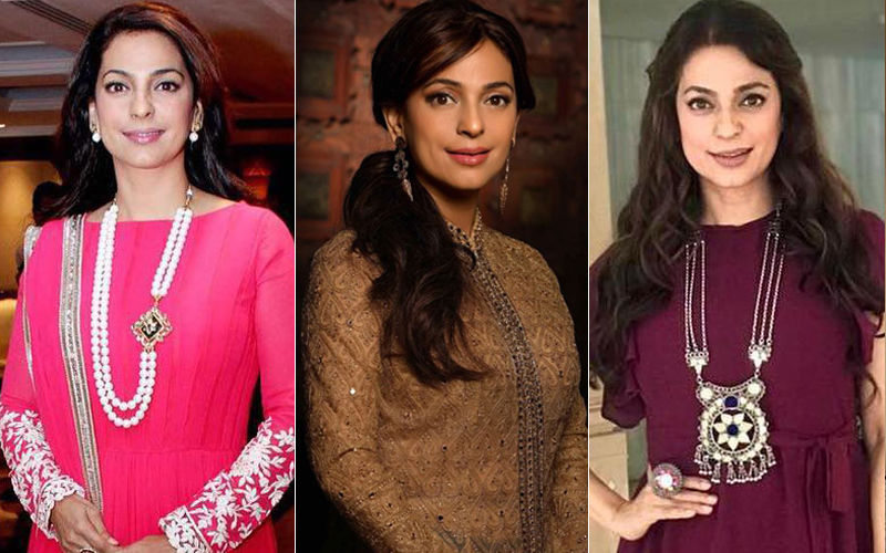 Happy Birthday, Juhi Chawla: 7 Gorgeous Traditional Looks Of The Smiling Beauty