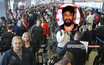 Coronavirus Scare: The Tashkent Files Filmmaker Vivek Agnihotri's Good Samaritan Act For An Elderly Lady At Mumbai Airport!- EXCLUSIVE