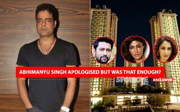 ANGUISH In Vicky Kaushal's Building Over Abhimanyu Singh's IRRESPONSIBLE STATEMENTS That They Have TWO COVID-19 Cases And Do Not Follow Social Distancing!- EXCLUSIVE