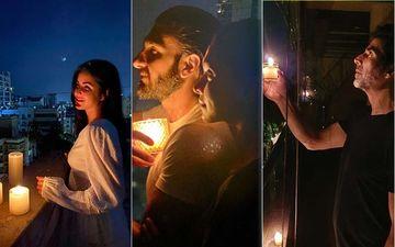 PM Narendra Modi's #9pm9minute Illuminates Bharat; Akshay, Katrina, Aishwarya, Anushka, Ranbir-Alia, Ranveer-Deepika Participate With Gusto