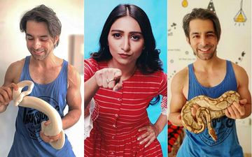 Yeh Rishta Kya Kehlata Hai's Gaurav Wadhwa Plays With A Python And Another Snake In His Living Room; Just Like Us, Co-Star Mohena Kumari Is In SHOCK