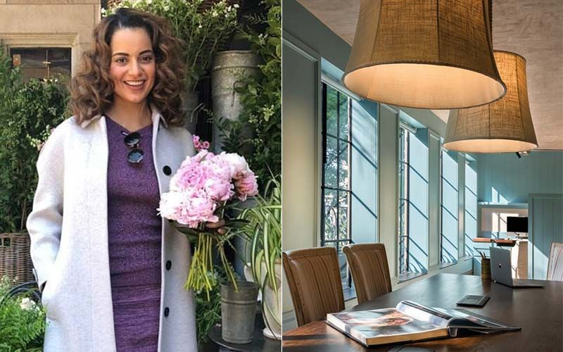 Kangana Ranaut's Office Demolished By BMC: Throwback To 12 Stunning Inside Pics Of The Super Luxurious 48 Crore Manikarnika Films That Once Stood In Bandra