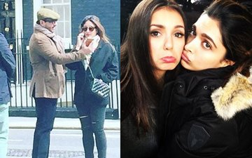 Bebo & Saif holiday in London, Deepika's sad face selfie with her co-star