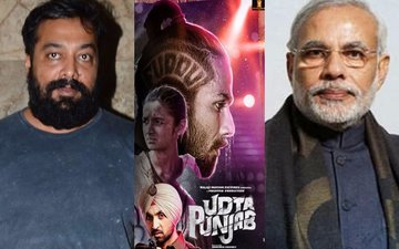 PM Narendra Modi sides with Anurag Kashyap in Udta Punjab controversy