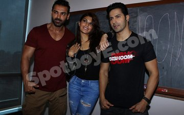 Go 'Dishoom' with Jacqueline, Varun & John
