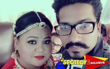 CAUGHT! Bharti Singh smooching boyfriend Harsh in a car