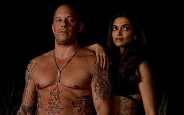 Deepika attends XxX 3 Crew's bash for Vin Diesel