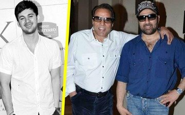 Sunny pays Papa Dharam a tribute in his son Karan's debut