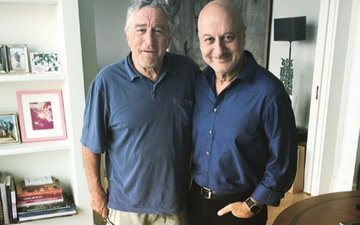 Robert De Niro congratulates Anupam Kher on his 500th film