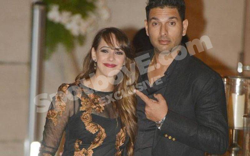 Take A Look At Yuvraj Singh and Hazel Keech's Toontastic