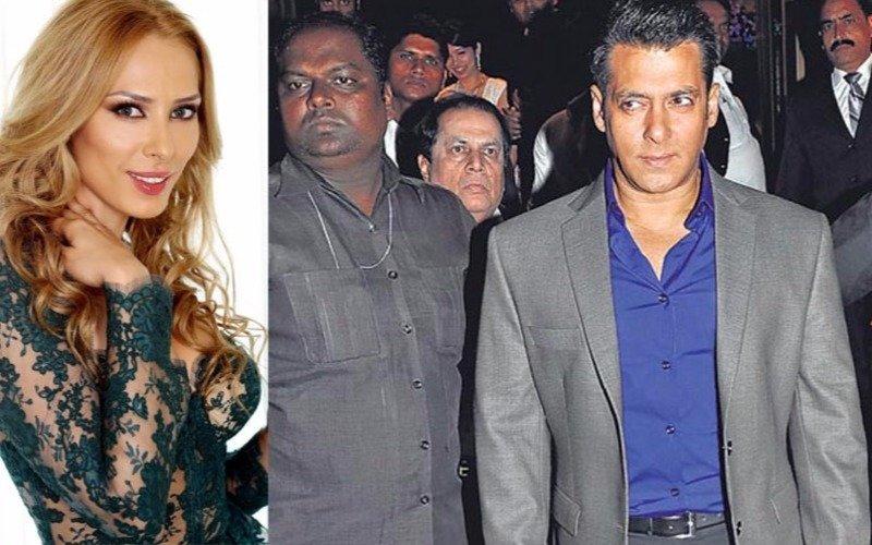 Salman to provide bodyguards to his fav Iulia