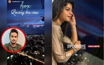 Faisal Khan's Rumoured Girlfriend Sneha Wagh In His Balcony, Pictures Don't Lie: Bond Growing Thicker- EXCLUSIVE