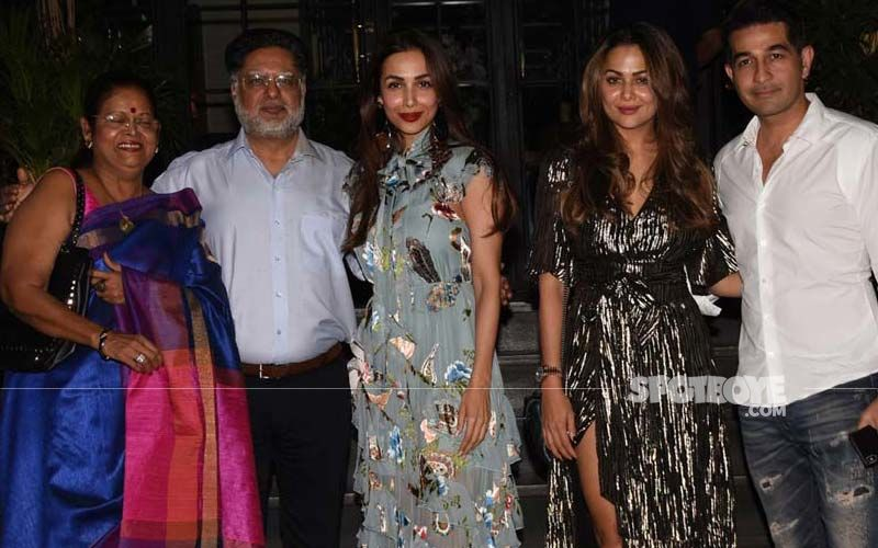 Amrita Arora's Birthday Bash: Sister Malaika Arora And Family Make It A Night To Remember