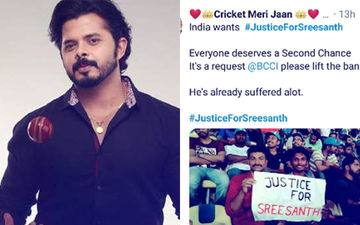 #JusticeForSreesanth: Fans Demand To Lift Ban And Say Cricketer Should Be Given Another Chance