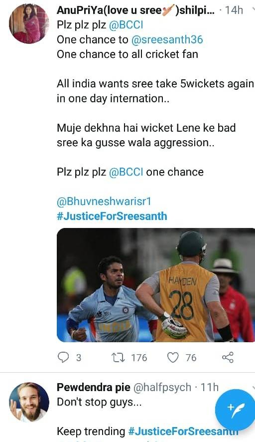 fans trend justice for sreesanth 1